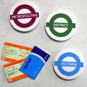 London Underground coasters