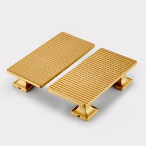 Brass Handles - Gold - Stripe