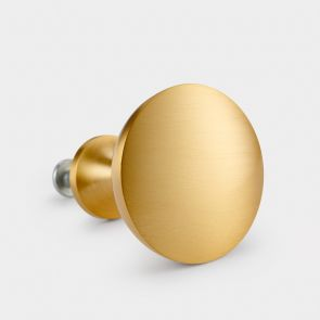 Brass Door Knob - Gold - Dome
