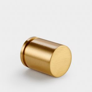 Brass Cylinder Pull - Gold