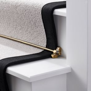 Brass Stair Rod - Antique Gold