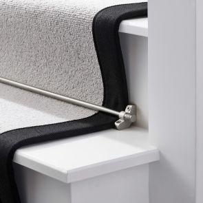 Brass Stair Rod - Silver