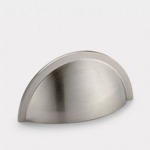 Brass Cup Handle - Silver