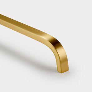 Brass Bar Handles - Gold - Curve