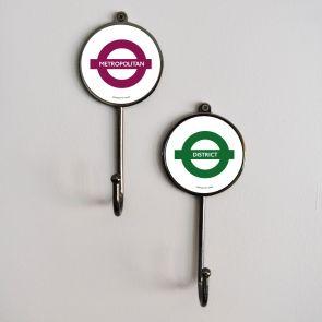 Metal Hook - Official TFL London Tube Line