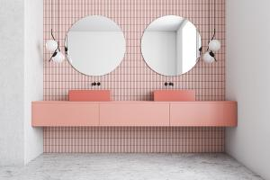 Time For A Pink Bathroom?