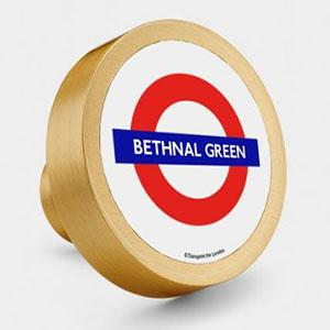 Try London Underground Themes With Brass Door Knobs