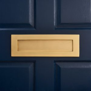 Makeover Your Door & Add Some Curb Appeal To Your Front Entrance With Our Gold Door Accessories